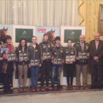 Ireland's young eventing medallists honoured at medal reception