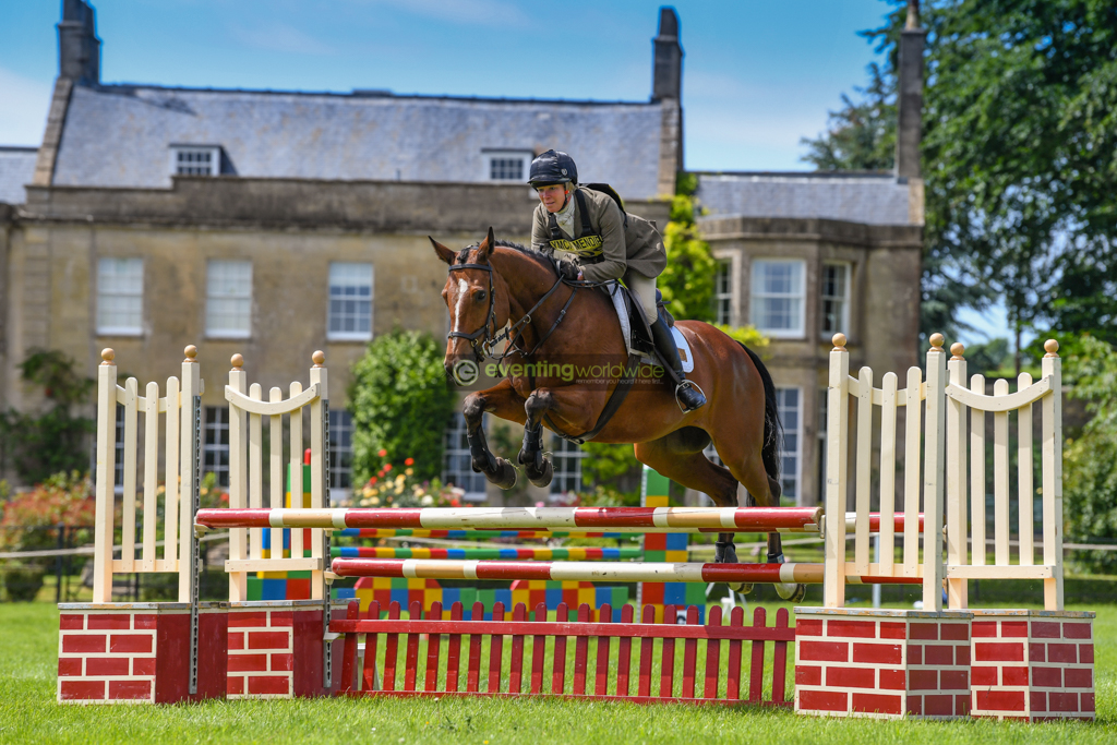 Cross country spectacle at popular Nunney International Horse Trials