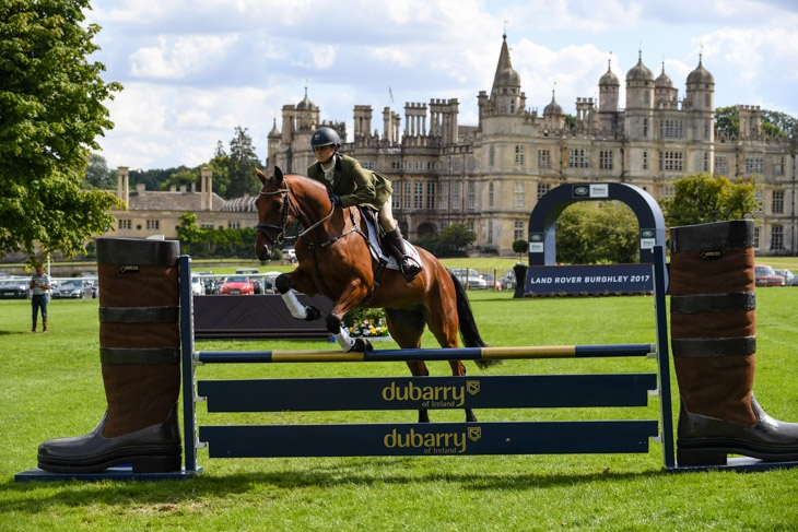 All change at Burghley