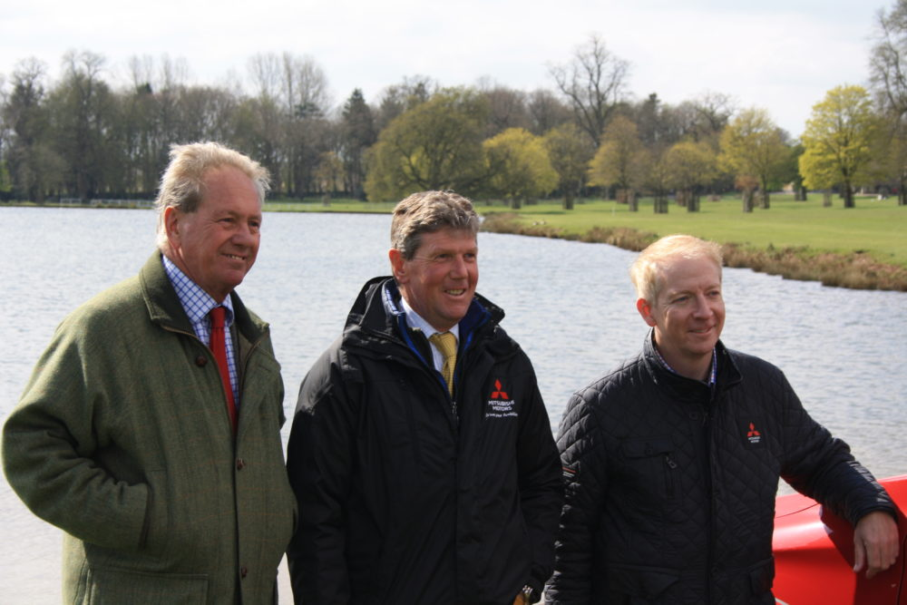 Mitsubishi Motors Badminton Horse Trials; Cross Country Course revealed