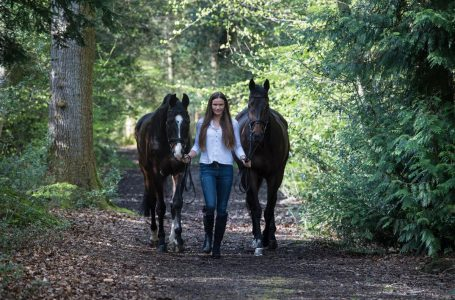 How Harriet Colderick Is Building Her Eventing Career..
